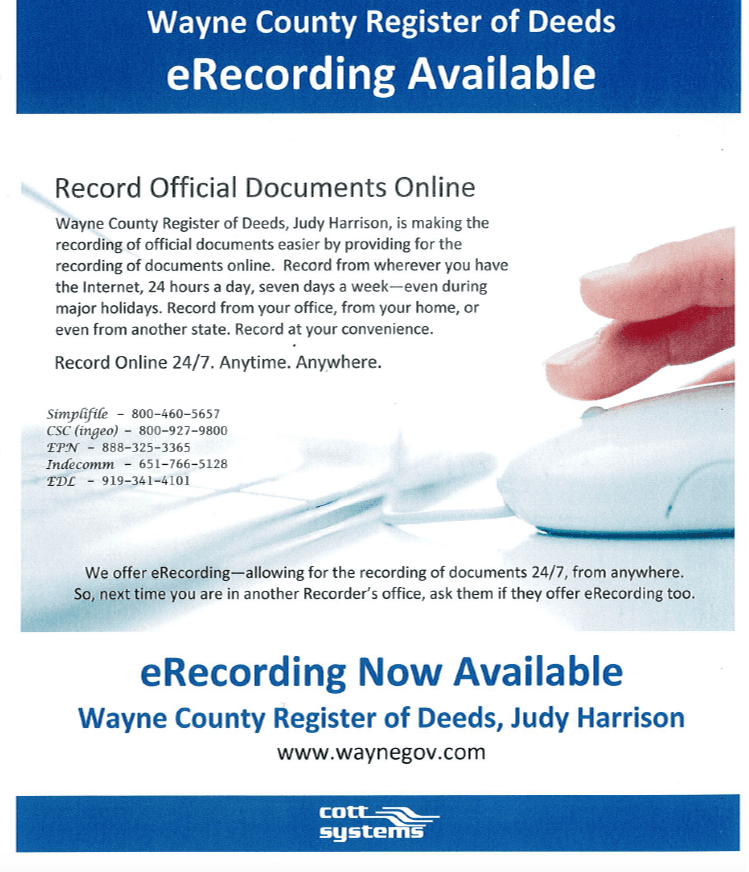 ERecording Information