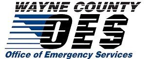 Wayne County Office of Emergency Services Logo