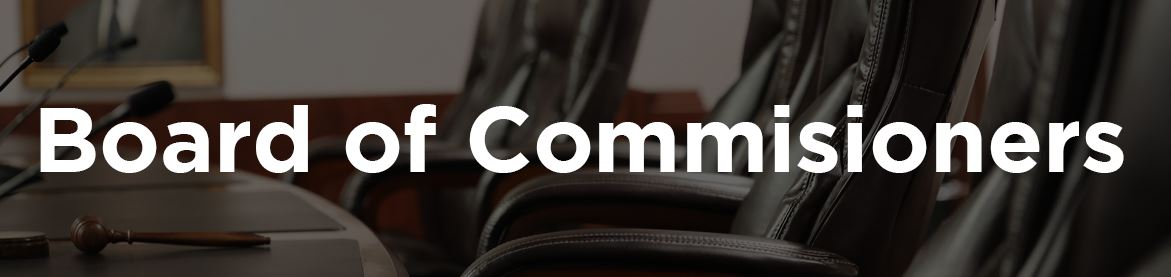 Commissioner Page Banner