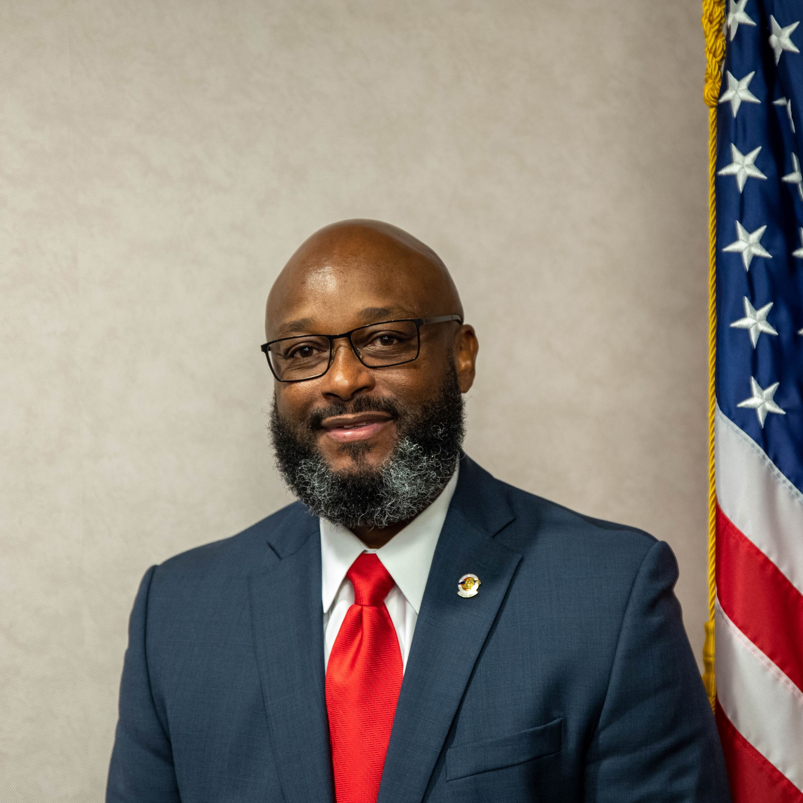 Headshot of Commissioner Adrian Worrell