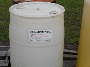 Antifreeze Container