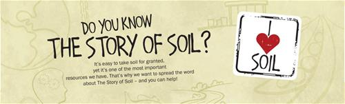 The banner image for the Story of Soil Blog post
