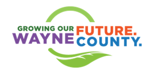 A Wayne County logo with the tagline Growing our Future