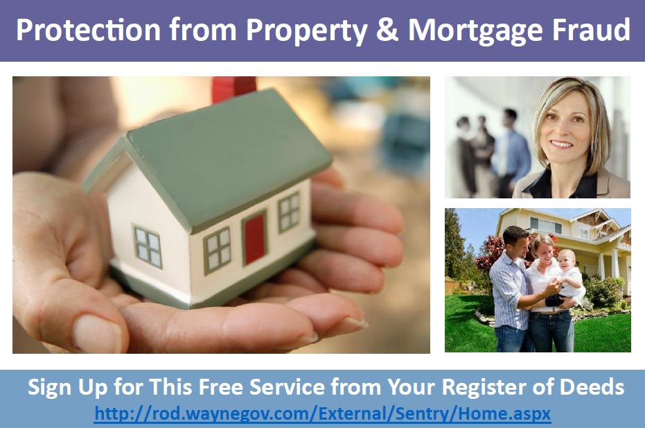 Protection from Property and Mortage Fraud